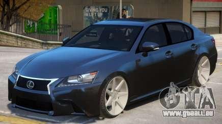 Lexus GS 350 V1 für GTA 4