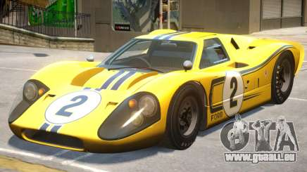 1967 Ford GT40 PJ1 für GTA 4