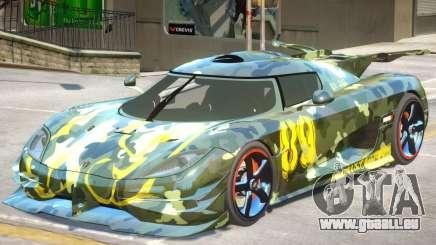Koenigsegg One PJ1 pour GTA 4