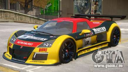 Gumpert Apollo V2 PJ1 pour GTA 4