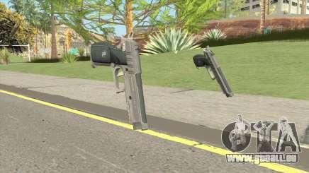 Hawk And Little Pistol GTA V Black (Old Gen) V1 für GTA San Andreas