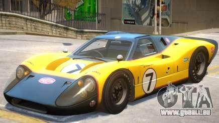 1967 Ford GT40 V1 PJ3 für GTA 4