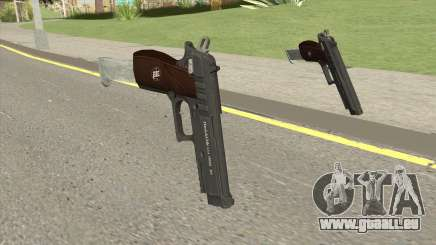 Hawk And Little Pistol GTA V Black (New Gen) V2 für GTA San Andreas