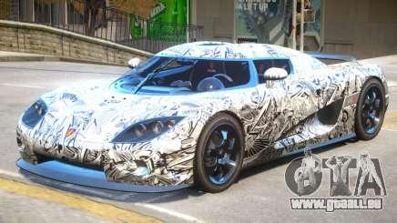 Koenigsegg CCX V2 PJ pour GTA 4