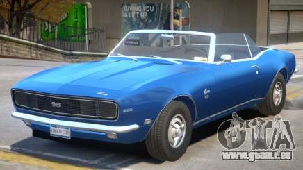 1968 Chevrolet Camaro R1 pour GTA 4