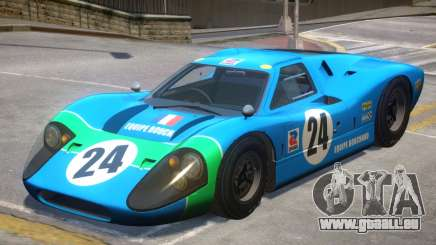 1967 Ford GT40 V1 PJ2 für GTA 4