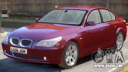 BMW 525d E60 V1.1 pour GTA 4