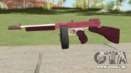 Edinburgh Gusenburg Sweeper GTA V (Pink) V2 für GTA San Andreas