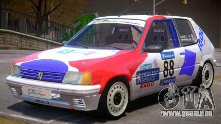 Peugeot 205 Sport PJ pour GTA 4