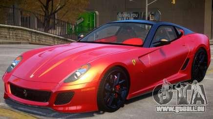 Ferrari 599 GTO V2 pour GTA 4