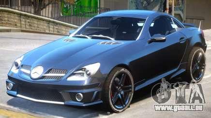 Mercedes Benz SLK 55 pour GTA 4
