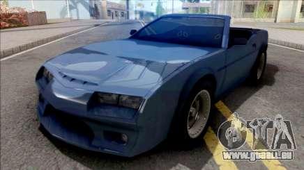 FlatOut Daytana Cabrio für GTA San Andreas