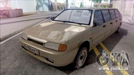 ВАЗ 2114 Limousine pour Plein CJ Gang pour GTA San Andreas