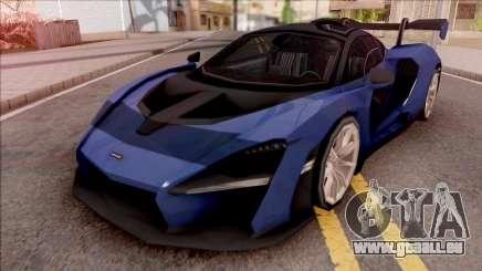 McLaren Senna 2019 Blue für GTA San Andreas