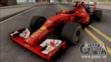 Ferrari F14 T F1 2014 für GTA San Andreas