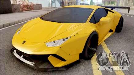 Lamborghini Huracan Performante Yellow für GTA San Andreas