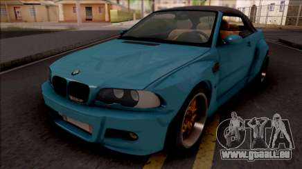 BMW M3 E46 Cabrio Widebody pour GTA San Andreas