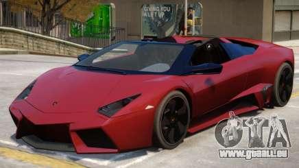 Lamborghini Gallardo Rodster V1.1 pour GTA 4