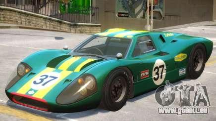 1967 Ford GT40 V1 PJ5 für GTA 4