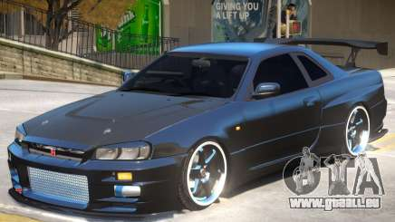 Nissan Skyline GT-R V-Spec pour GTA 4