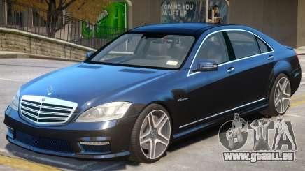 Mercedes Benz S65 W221 pour GTA 4