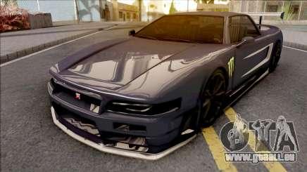 Infernus R34 Monster Energy für GTA San Andreas