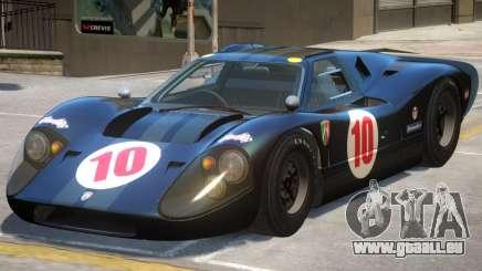 Ford GT40 PJ2 für GTA 4