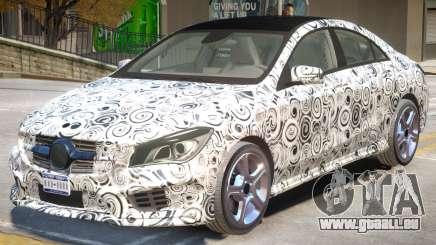 Mercedes Benz CLA V1 PJ pour GTA 4