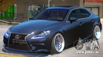 Lexus IS 350 V1.1 für GTA 4