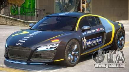 Audi R8 V10 Coupe PJ pour GTA 4
