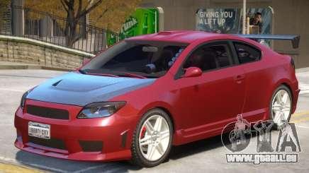 Toyota Scion V1 für GTA 4