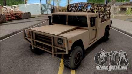 GTA V Mammoth Squaddie SA Style pour GTA San Andreas