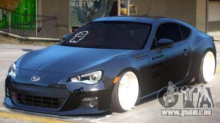 Subaru BRZ Improved pour GTA 4