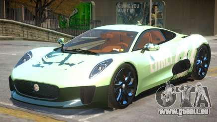Jaguar C-X75 V1.2 PJ1 für GTA 4