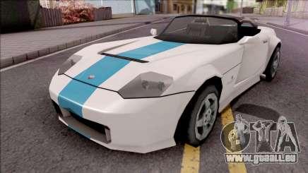 Bravado Banshee 2008 Lowpoly pour GTA San Andreas
