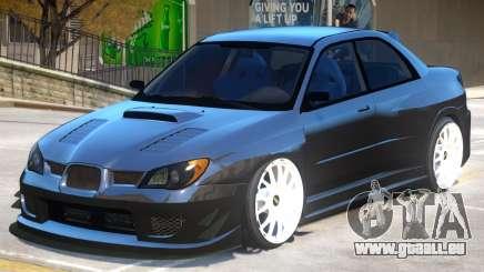 Subaru Impreza V1.2 pour GTA 4