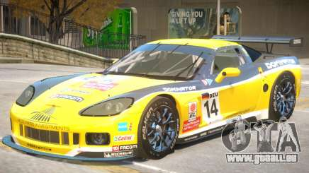 Chevrolet Corvette GT PJ4 für GTA 4