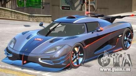 Koenigsegg One V1.2 pour GTA 4