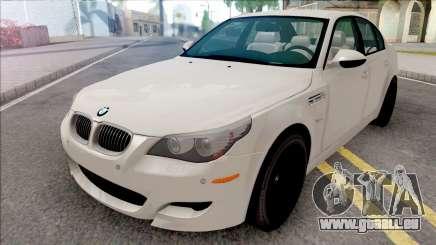 BMW M5 E60 2009 White für GTA San Andreas