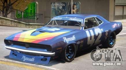 1970 Plymouth Cuda PJ1 pour GTA 4