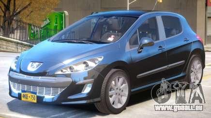 Peugeot 308 R4 pour GTA 4