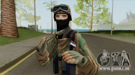 Serbian Soldier 1995 pour GTA San Andreas