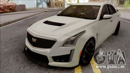 Cadillac CTS-V White pour GTA San Andreas
