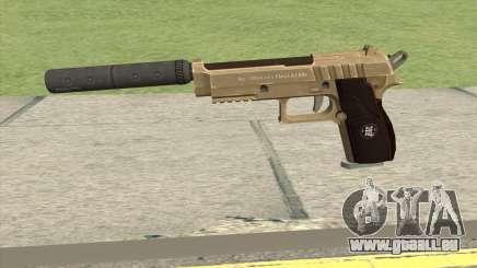 Hawk And Little Pistol GTA V (Army) V6 pour GTA San Andreas