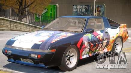 1986 Mitsubishi Starion PJ2 pour GTA 4