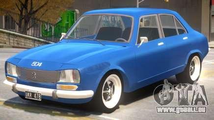Peugeot 504 V1.1 pour GTA 4