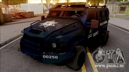 Lenco Bearcat G3 Policia Federal für GTA San Andreas