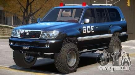 Toyota Land Cruiser Police pour GTA 4