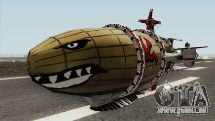 Kirov Airship (Red Alert 3) für GTA San Andreas