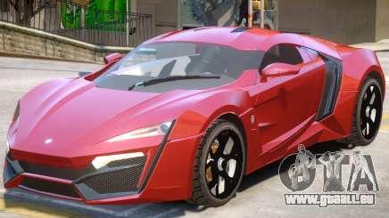 Lykan HyperSport Upd pour GTA 4